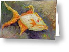 Triggerfish Greeting Card