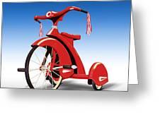 Trike Greeting Card