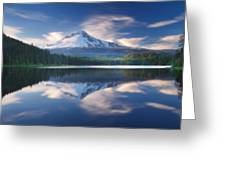 Trillium Lake Escape Greeting Card