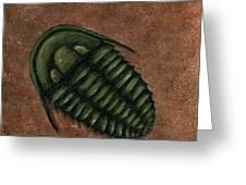Trilobite Greeting Card