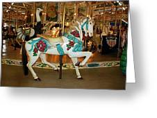 Trimper's Carousel 3 Greeting Card