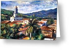 Trinadad Cuba Greeting Card
