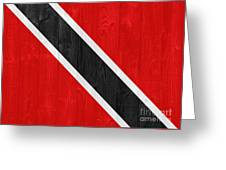 Trinidad And Tobago Flag Greeting Card