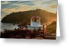 Trinidad Fog Light Greeting Card