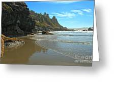 Trinidad Luffenholtz Beach Greeting Card