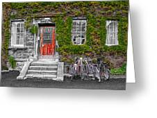 Trinity College Dorm - Dublin Ireland Greeting Card