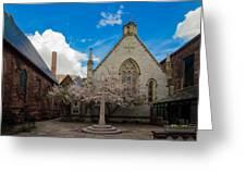 Trinity Courtyard Greeting Card
