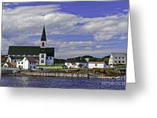 Trinity In Newfoundland Greeting Card