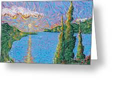 Trinity Lake 2 Greeting Card