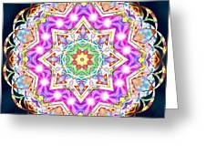 Trinity Of Light K2 Greeting Card