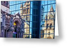 Trinity Reflections Greeting Card