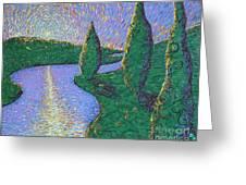 Trinity River Greeting Card