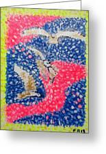Trio Of Birds Greeting Card