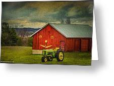 Trip To The Happy Farm Greeting Card