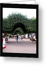 Triple Arches Greeting Card