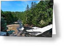 Triple Falls North Carolina Greeting Card