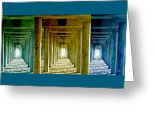 Triple Perspective Greeting Card