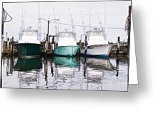 Triple Pleasure - Outer Banks Greeting Card by Dan Carmichael
