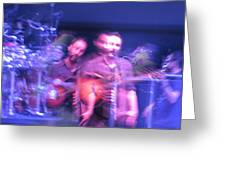 tripy photo of Dave Matthews Greeting Card