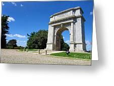 Triumph And Sorrow Arch  Greeting Card