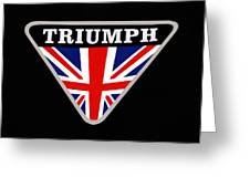 Triumph Emblem Greeting Card