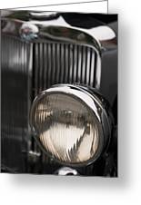 Triumph Roadster One Headlight Greeting Card