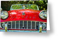 Triumph Tr3 Greeting Card