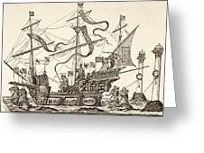 Triumphal Vessel Greeting Card