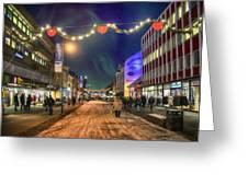 Tromso Aurora Greeting Card
