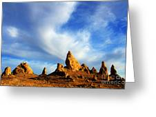 Trona Pinnacles California Greeting Card