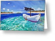 Tropic Breeze Greeting Card