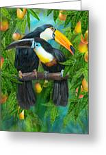 Tropic Spirits - Toucans Greeting Card