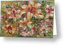 Tropical Beauties Greeting Card