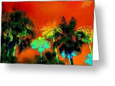 Tropical Blend Greeting Card