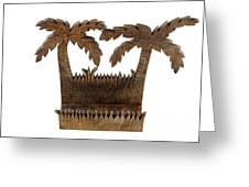 Tropical Business Card Holder Greeting Card by Lee Serenethos