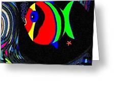Tropical Cave Fish 2 Greeting Card