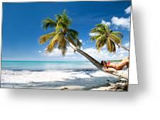 Tropical Escape Greeting Card