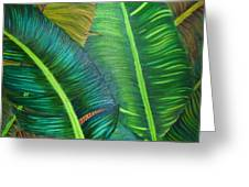 Tropical Essence Greeting Card