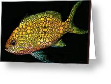Tropical Fish Art 14 By Sharon Cummings Greeting Card