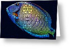 Tropical Fish Art 6 - Painting By Sharon Cummings Greeting Card