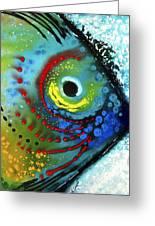 Tropical Fish - Art By Sharon Cummings Greeting Card