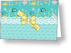 Colorful Tropical Fish Greeting Card