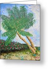 Tropical Flair Greeting Card