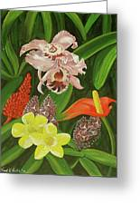 Tropical Foliage Greeting Card
