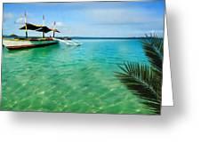 Tropical Getaway Greeting Card