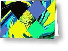 Tropical Impressions Greeting Card