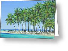 Tropical Lagoon Greeting Card