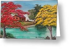 Tropical Lifestyle Greeting Card