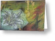 Tropical Lily No.3 Greeting Card