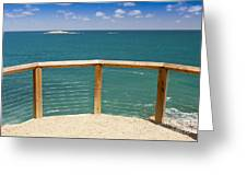 Tropical Lookout Greeting Card